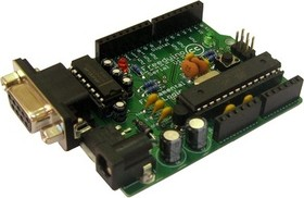 Freeduino MaxSerial ATmega328 (аналог Arduino Diecimila), Программируемая микроЭВМ на базе Atmega328
