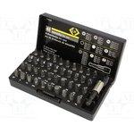 CK-4508, Набор набор насадок, Кол-во шт 41, Насадки TRI-WING 1,2,3,4