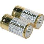 Батарейки GP Super Alkaline C (LR14), 2 шт. (14A-OS2)