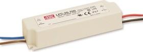 LPC-20-700, AC/DC LED, 3-30В,0.7А,21Вт,IP67 блок питания для светодиодного освещения