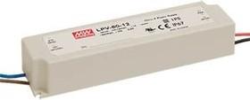 Фото 1/3 LPV-60-12, AC/DC LED, 12В,5А,60Вт,IP67 блок питания для светодиодного освещения