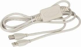 UANC22V7, Шнур USB AM/AM, 1.8м, для связи 2х комп-ов по USB портам, XP/Vista