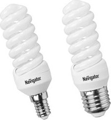 NCL-SF10-11-827-E14 ( 94087), Лампа энергосберегающая 11Вт,2700K,E14