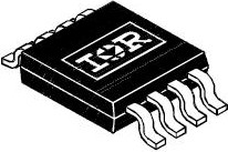 Фото 1/3 IRF7509TRPBF, Транзистор, N/P-каналы 30В 2.7А/-2А [Micro-8] (IRF7509PBF)
