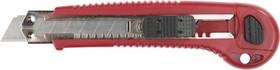 """09167_z01, Нож ЗУБР """"ЭКСПЕРТ"""" с запасными сегментированными лезвиями 6шт, 18мм"""