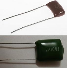 К73-17 имп, 0.1 мкФ, 100 В, 5-10%, Конденсатор металлоплёночный
