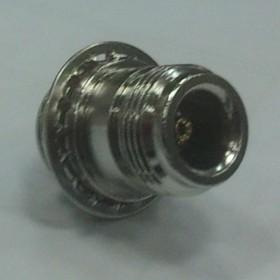 HYR-0315A (N-7315A) (GN-315A), Разъем N, гнездо, панель, под гайку (Bulkhead)