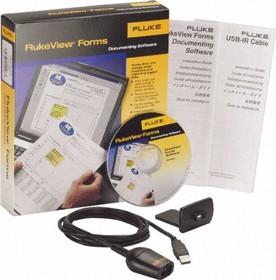Фото 1/3 FVF-SC2, Программное обеспечение и USB-кабель для Fluke серии 280, 180; 53-II B и 54-II B; 789; 1550