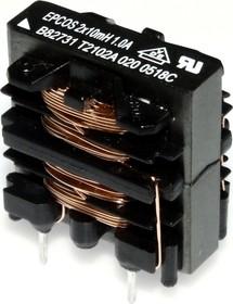 B82731-T2102-A20, 2х10мГн, 1.0А, 250В, Фильтр подавления ЭМП