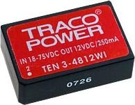 TEN3-4813WI, DC/DC преобразователь, 3Вт, вход 18-75В, выход 15В/200мА