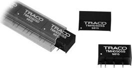 TMH 2412S, DC/DC преобразователь, 2Вт, вход 21.6-26.4В, выход 12В/165мА