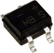 B1S (MB1S), Диодный мост 0.5А 100В [DB-1MS]