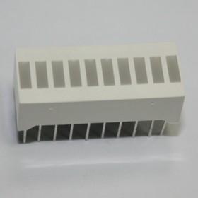 BL-AR10Z2510UW, Светодиодная полоса 10сегментов белая 50мКд (Ultra White)