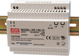 DR-100-15, Блок питания, 15B,6.5A,100Вт