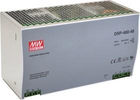 DRP-480-48, Блок питания, 48В,10А,480Вт