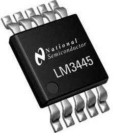 LM3445MM, Интегральный драйвер для управления мощными светодиодами с функцией регулировки яркости