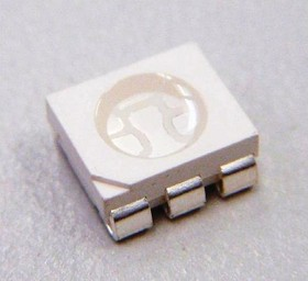 CLP6C-RKW-CYbA0AA3, Светодиод красный PLCC 6 6.0x5.0x2.0 мм 3550:16800 мКд