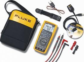 Fluke 289/FVF, Мультиметр цифровой промышленный True RMS, регистрирующий с ПО FlukeView Forms (Госреестр)