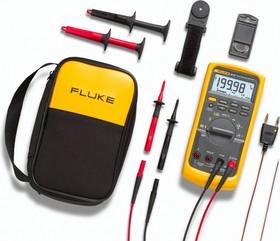 Fluke 87V/E2 Kit, Промышленный комбинированный комплект для электриков (Госреестр)