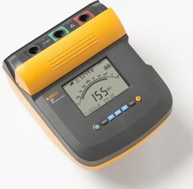Фото 1/5 Fluke 1555/Kit, Измеритель сопротивления изоляции, мегаомметр (10 кВ), комплект