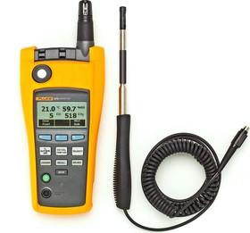 Fluke 975V, Тестер качества воздуха ( 5 в 1) + зонд