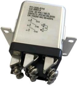 FC-335-CW3, Реле электромагнитное 28VDC 35A/115VAC