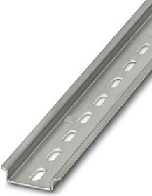 801733, Connector Accessories DIN Rail Straight Steel Silver Passivated