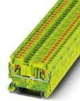 3209536, Conn Ground Modular Terminal Block F 2 POS T DIN Rail