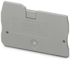 3206322, Connector Accessories End Cover Polyamide Gray