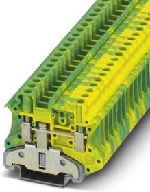 Фото 1/2 3046207, Conn Ground Modular Terminal Block F 2 POS Screw T DIN Rail