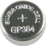 384 (SR41), Элемент питания серебряно-цинковый (1шт) 1.55В