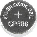 386 (SR43), Элемент питания серебряно-цинковый (1шт) 1.55В