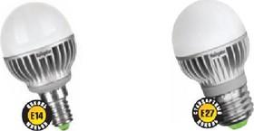 "Фото 1/2 NLL-G45-5-230-2.7K-E27 (94266), Лампа светодиодная ""шар"" 5Вт,220В (теплый)"