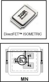 IRF6648TR1PBF, Nкан 60В 86А DirectFET MN