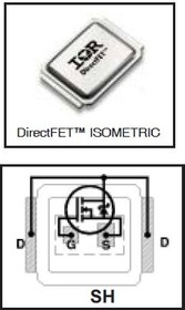 IRF6665TR1PBF, Nкан 100В 19А DirectFET SH