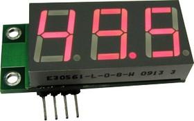 SAH0012R-50, Цифровой встраиваемый амперметр (до 50А) постоянного тока( без шунта)
