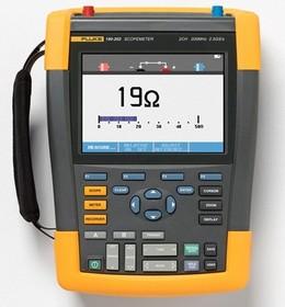 Fluke 190-062/S, Осциллограф, 2 канала x 60МГц с набором опций SCC290, цветной дисплей (Госреестр)