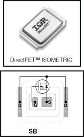 IRF7665S2TR1PBF, Nкан 100В 14.4А DirectFET SB