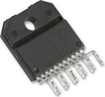 LMD18200T/NOPB, Драйвер управления шаговым электродвигателем, 3А, 55В