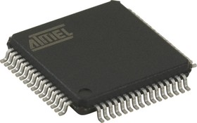 AT89C5131A-RDTUM, MCU, 8BIT, 80C52X2, 48MHZ, VQFP-64