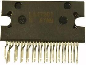 LA47201, Четырехканальный усилитель НЧ, 4 х 22Вт, 4 Ом, 14.4В, 20…20000Гц, [HZIP-25]