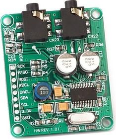 MIKROE-506, Audio Codec Board - PROTO, Отладочная плата, аудио кодек WM8731