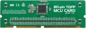 MIKROE-420, BIGPIC6 80-pin TQFP MCU Card with PIC18F8520 Microcontroller, Дочерняя плата с мк PIC18F8520 для совместной работы c ME-BIGPIC6
