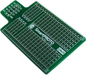 MIKROE-197, SmartPROTO Board, Макетная плата расширения для лабораторных микроконтроллерных стендов
