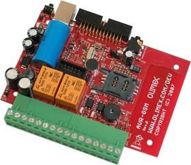 AVR-GSM, Отладочная плата на базе микроконтроллера ATMEGA32 и GSM/GPRS модема Simcom