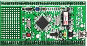 MIKROE-707, mikroBoard for PIC 80-pin with PIC18F8520, Дочерний модуль с МК PIC18F8520 для MIKROE-701, UNI DS6