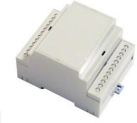 D4MG, Корпус на DIN-рейку, 71х90.2х57.5мм, светло-серый
