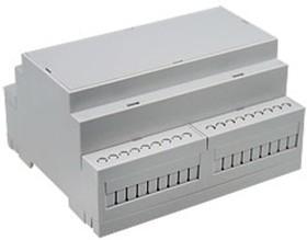 D6MG, Корпус на DIN-рейку, 106.25х90.2х57.5мм, светло-серый