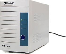 BASIC BAC-1000, Источник бесперебойного питания (ИБП/UPS), 1000ВА/600Вт, IEC, line-interactive, белый
