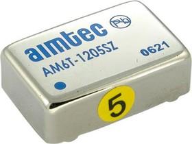 AM6T-1212SZ, DC/DC преобразователь, 6Вт, вход 9-18В, выход 12В/500мА
